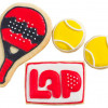 Galletas decoradas padel
