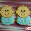 Galletas decoradas: Bautizo de Jordi