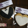 Galletas decoradas: Boda de Azahara y Angel