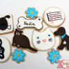 Galletas decoradas: Regalo para Nadia y Andrea