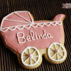 Galletas decoradas: Bautizo de Belinda