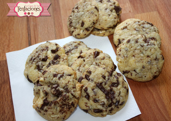 Video receta: Galletas de dos chocolates